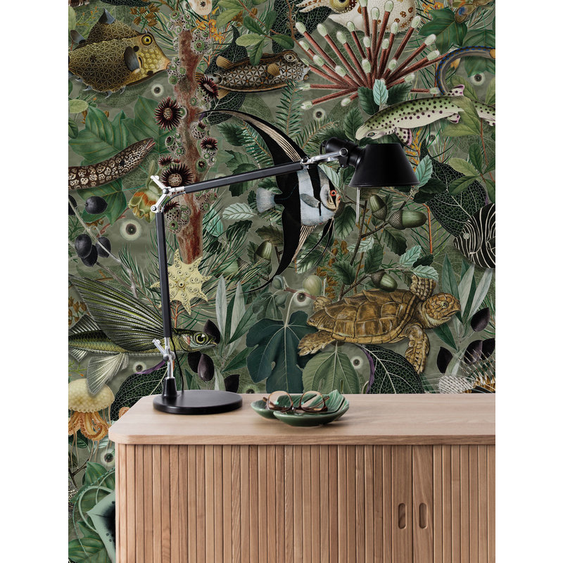 KEK Amsterdam-collectie Underwater Jungle 685 Wallpaper Mural
