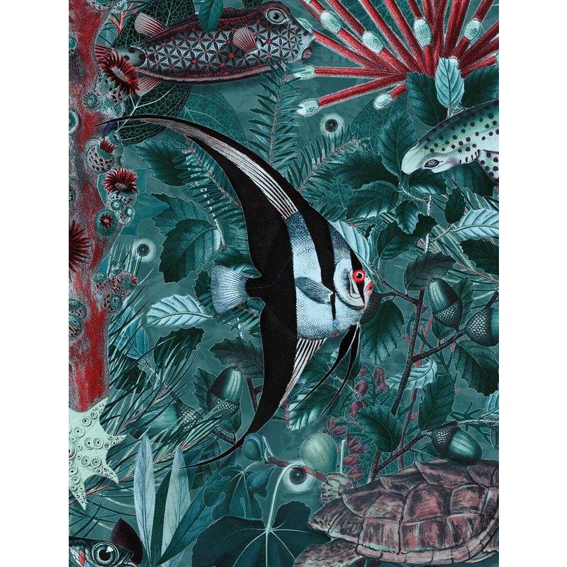 KEK Amsterdam-collectie Underwater Jungle behang Mural 686