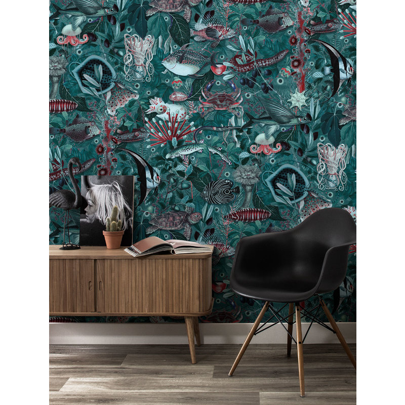 KEK Amsterdam-collectie Underwater Jungle 686 Wallpaper Mural