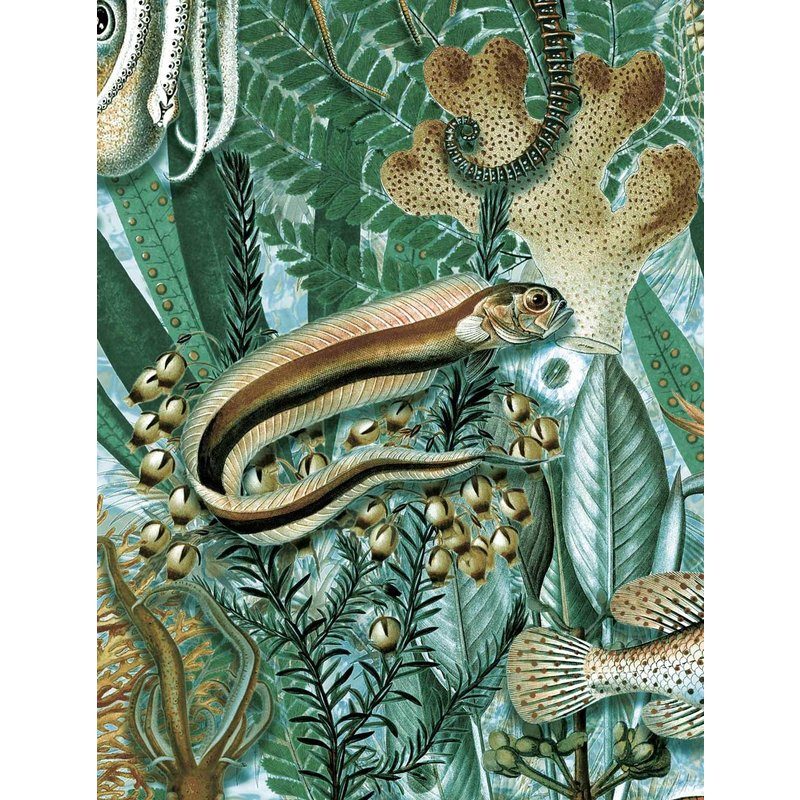 KEK Amsterdam-collectie Underwater Jungle behang Mural 688
