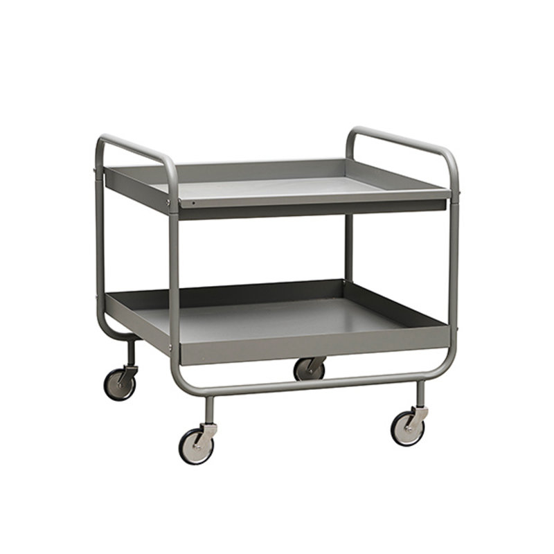 House Doctor-collectie Grijze trolley ROLL