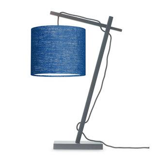 Good&Mojo Tafellamp Andes zwart/blue denim