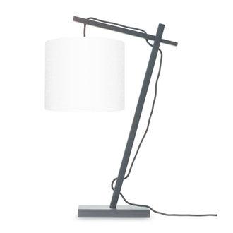 Good&Mojo Tafellamp Andes zwart/wit