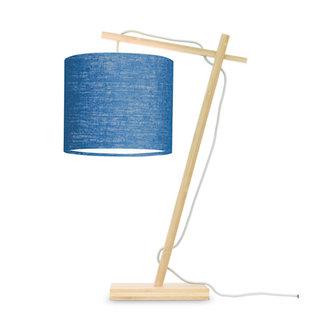Good&Mojo Tafellamp Andes naturel/blue denim