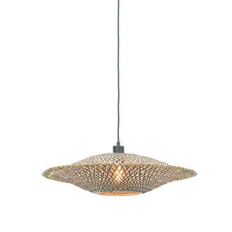 Good&Mojo Hanglamp Bali 60cm zwart/naturel M