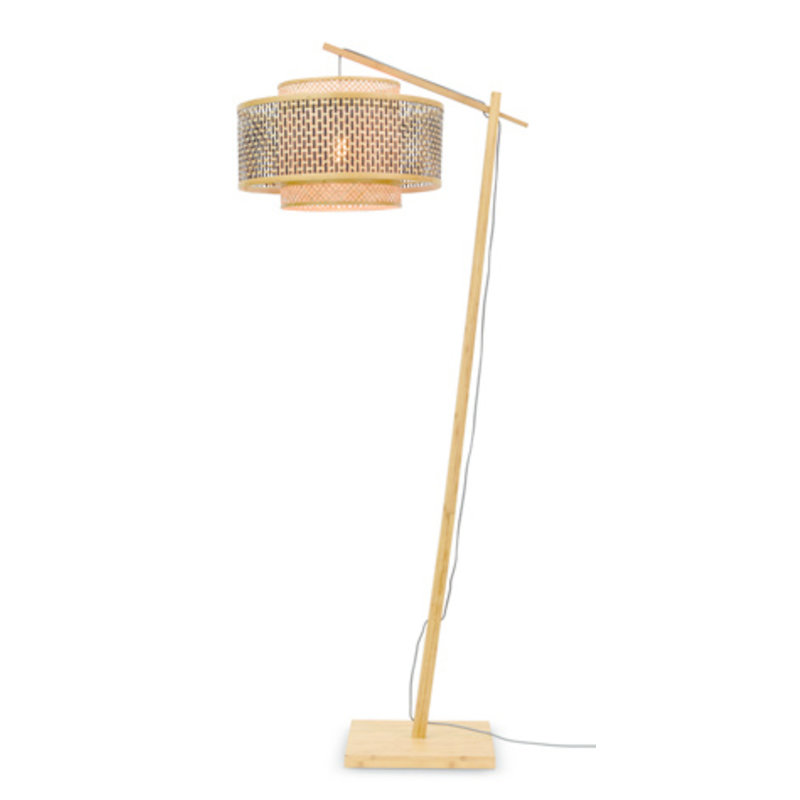 Good&Mojo-collectie Vloerlamp Bhutan naturel L