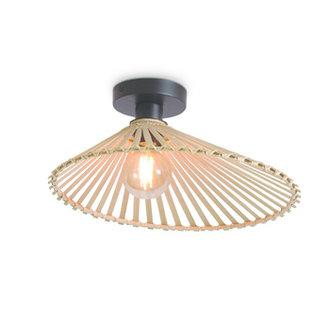 Good&Mojo Ceiling lamp Bromo asymm. dia.40x11cm natural, S
