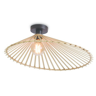Good&Mojo Ceiling lamp Bromo asymm. dia.60x13cm natural, L