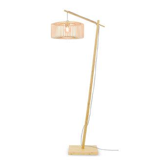 Good&Mojo Vloerlamp Bromo naturel h.176 rond S