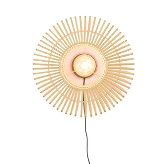 Good&Mojo Wall lamp Bromo round dia.40x18cm natural, S