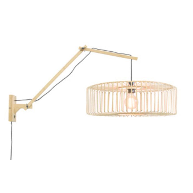 Good&Mojo-collectie Wandlamp Bromo naturel/naturel L
