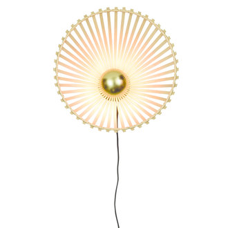 Good&Mojo Wall lamp Bromo asymm. dia.40x11cm natural, S