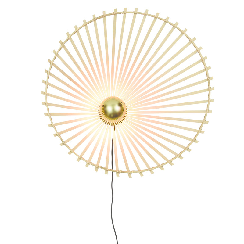 Good&Mojo-collectie Wandlamp Bromo asym. 60cm naturel L