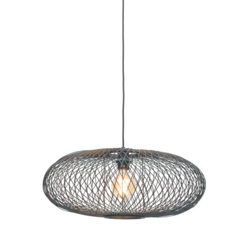Good&Mojo-collectie Hanging lamp Cango ellipse dia.60x25cm black
