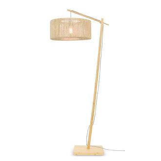 Good&Mojo Floor lamp Iguazu /jute nat. h.176cm/shade 50x22cm nat. S