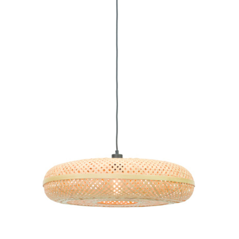 Good&Mojo-collectie Hanglamp Palawan 60cm naturel L