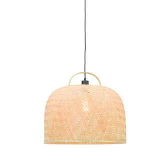 Good&Mojo Hanging lamp Serengeti /handle dia.50x44cm natural, L