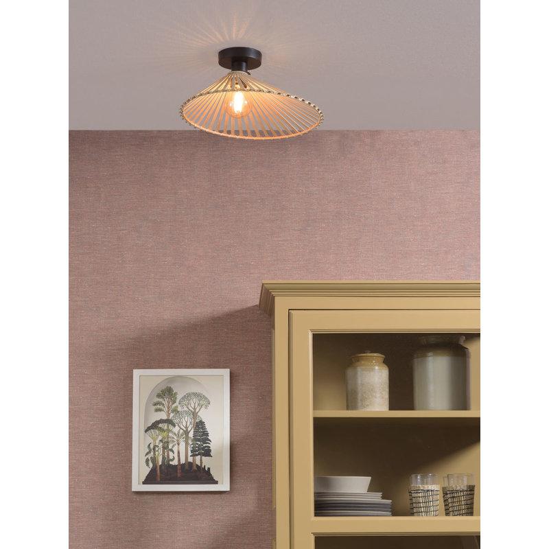 Good&Mojo-collectie Ceiling lamp Bromo asymm. dia.40x11cm natural, S