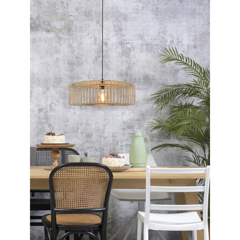 Good&Mojo-collectie Hanging lamp Bromo round dia.60x18cm natural, L