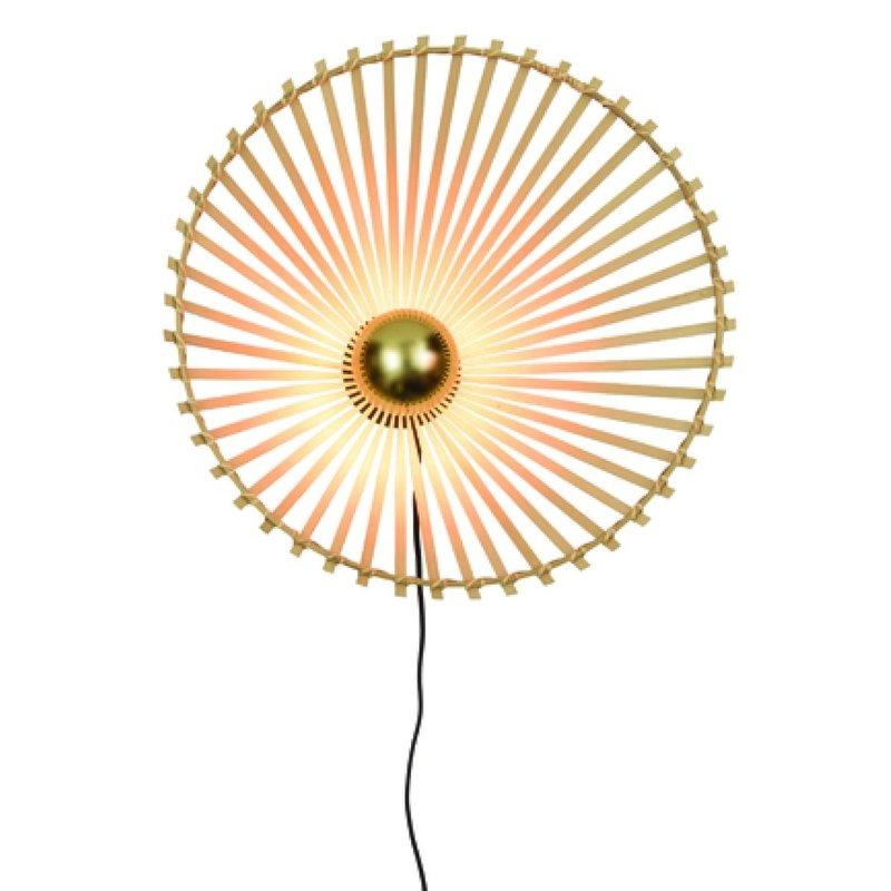 Good&Mojo-collectie Wall lamp Bromo asymm. dia.50x12cm natural, M