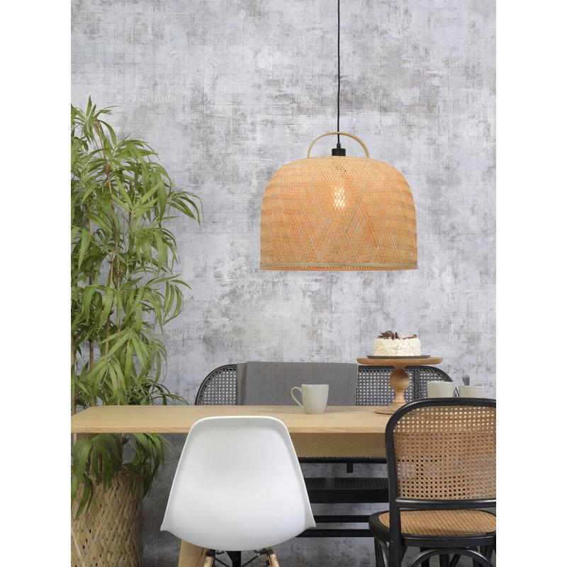 Good&Mojo-collectie Hanglamp Serengeti hengsel naturel L