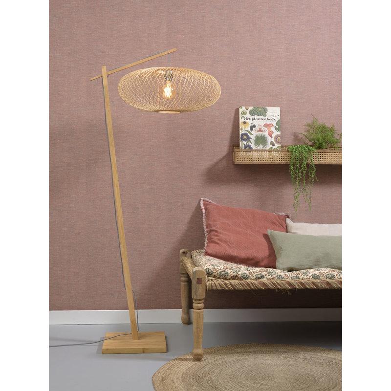 Good&Mojo-collectie Vloerlamp Cango naturel/naturel S