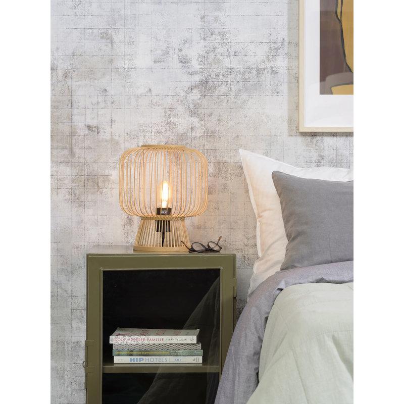 Good&Mojo-collectie Table lamp Cango h.30x26cm, natural