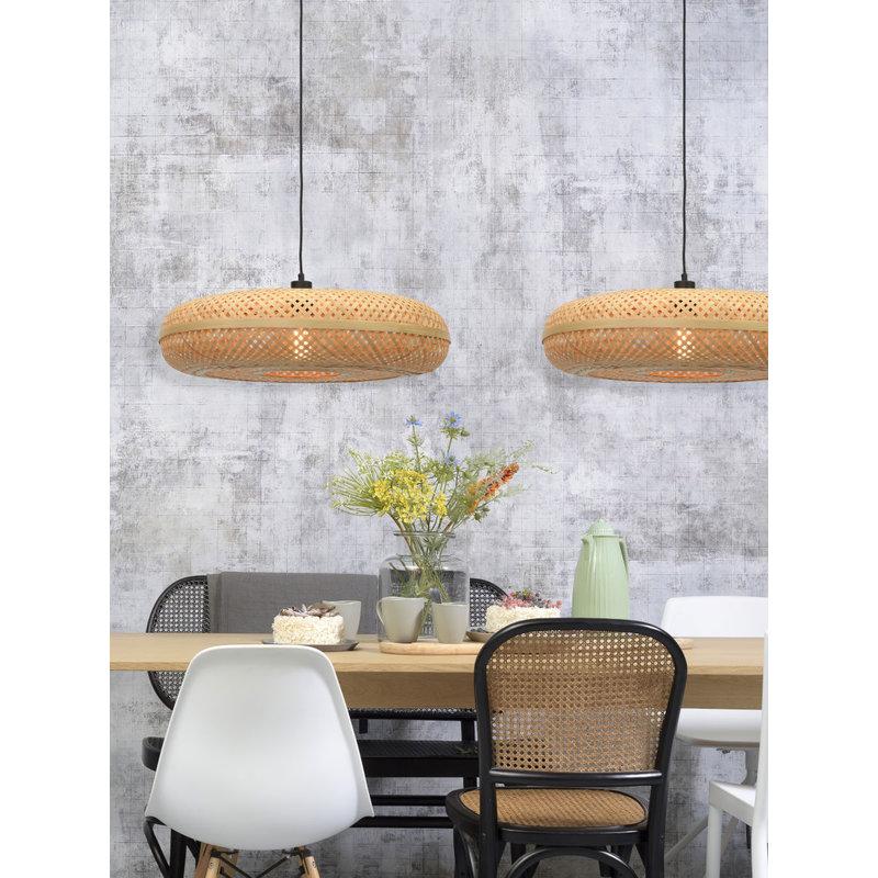 Good&Mojo-collectie Hanging lamp Palawan 60x15cm natural, L