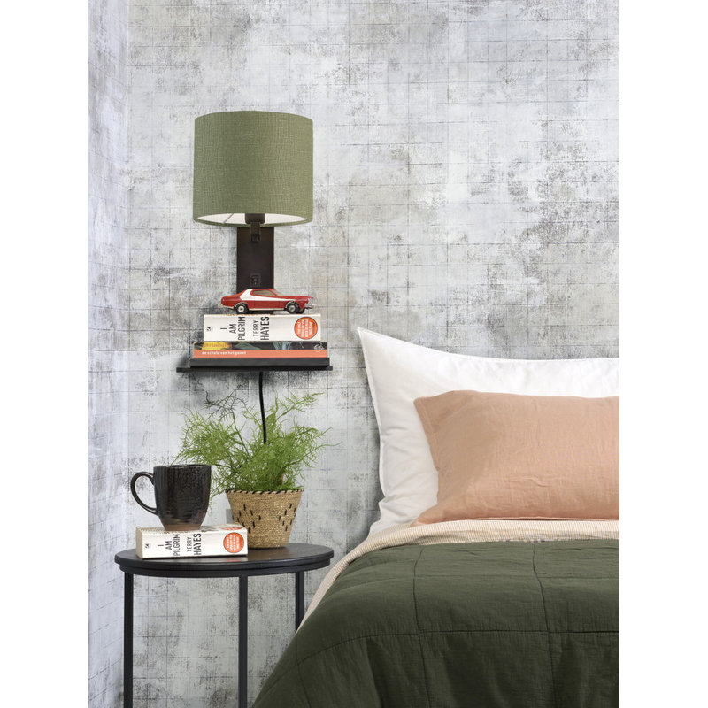 Good&Mojo-collectie Wandlamp Andes zwart/green forest