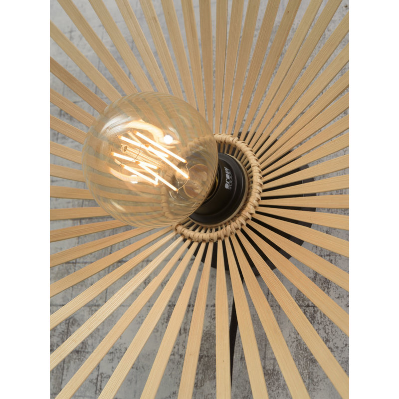 Good&Mojo-collectie Plafonniere Bromo asym. 60cm naturel L