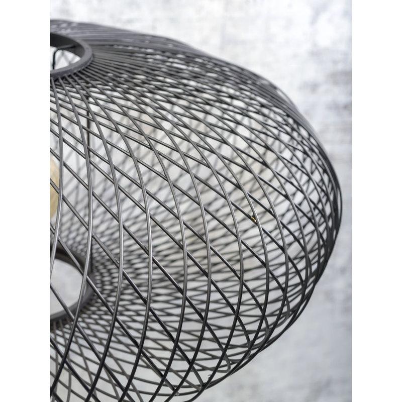 Good&Mojo-collectie Plafonniere Cango 60cm zwart