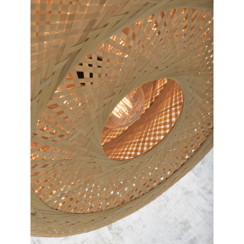 Good&Mojo-collectie Ceiling lamp Palawan 40x15cm nat., S