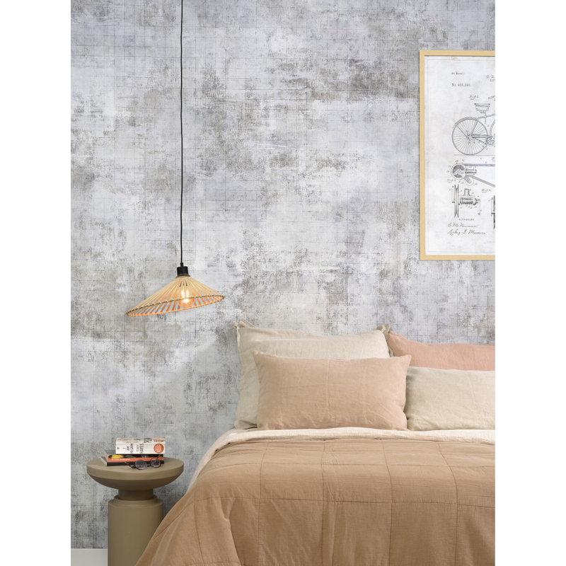 Good&Mojo-collectie Hanging lamp Bromo asymm. dia.40x11cm natural, S