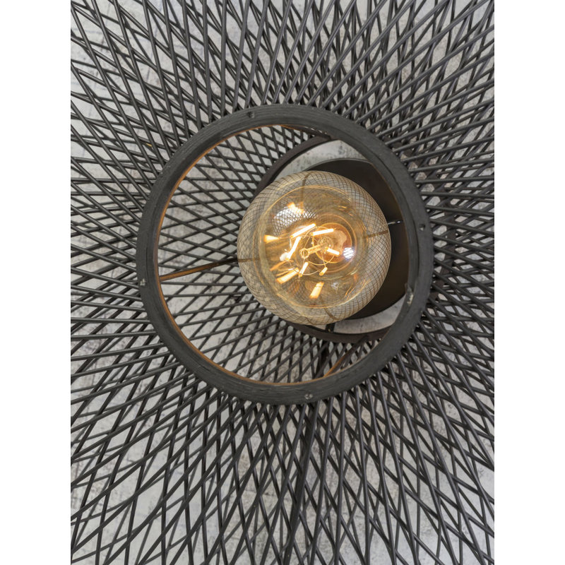 Good&Mojo-collectie Wandlamp Cango 60cm zwart