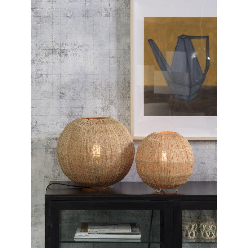 Good&Mojo-collectie Table lamp Iguazu jute globe 25xh.25cm natural, S