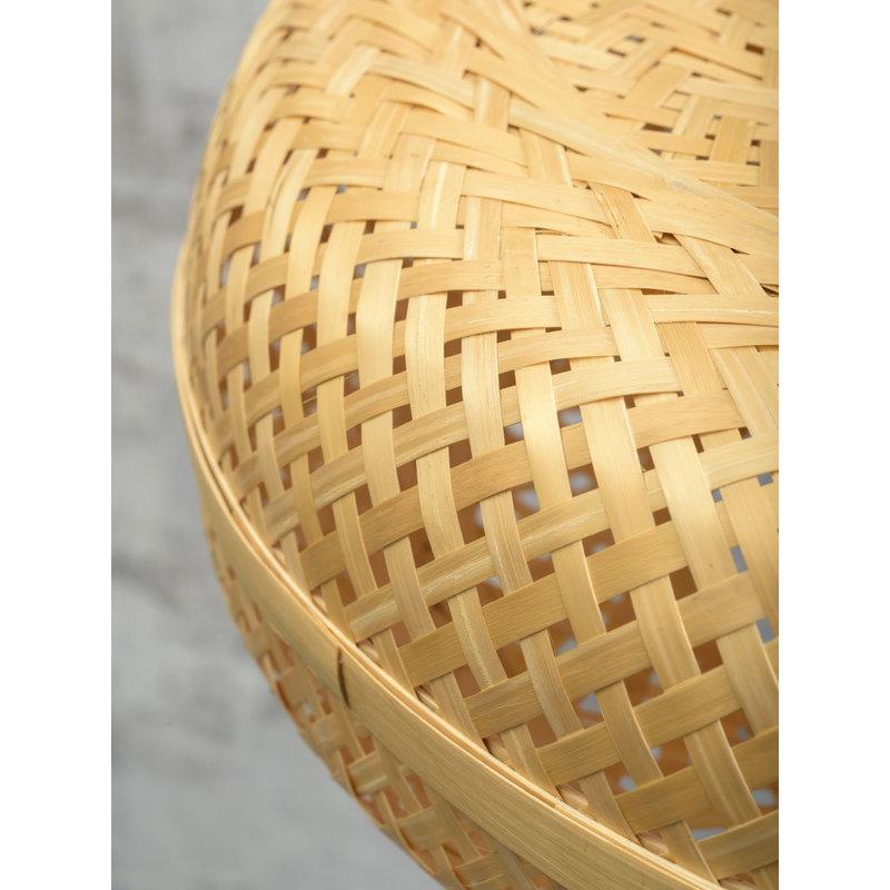 Good&Mojo-collectie Floor lamp Palawan nat. h.176cm/shade 40x15cm natural
