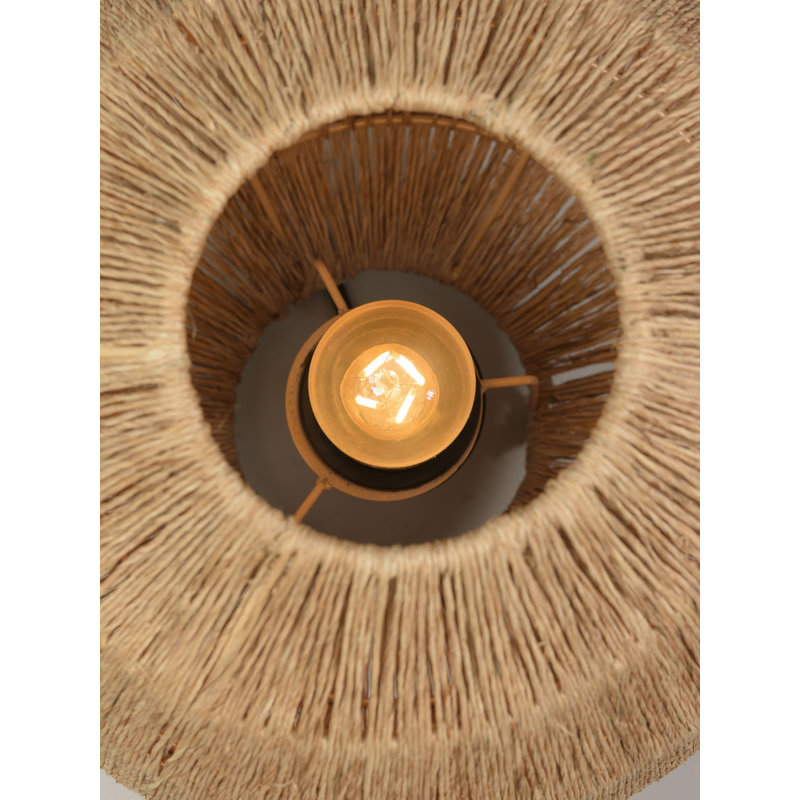 Good&Mojo-collectie Table lamp Iguazu jute globe 32xh.36cm natural, L