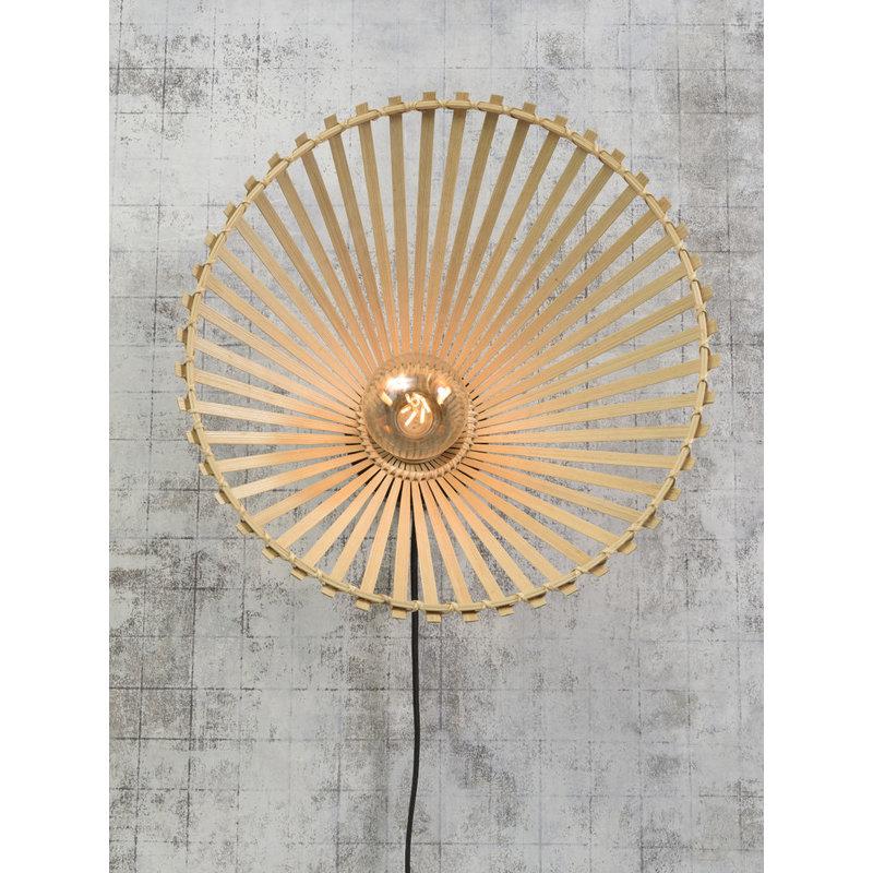 Good&Mojo-collectie Wandlamp Bromo asym. 50cm naturel M