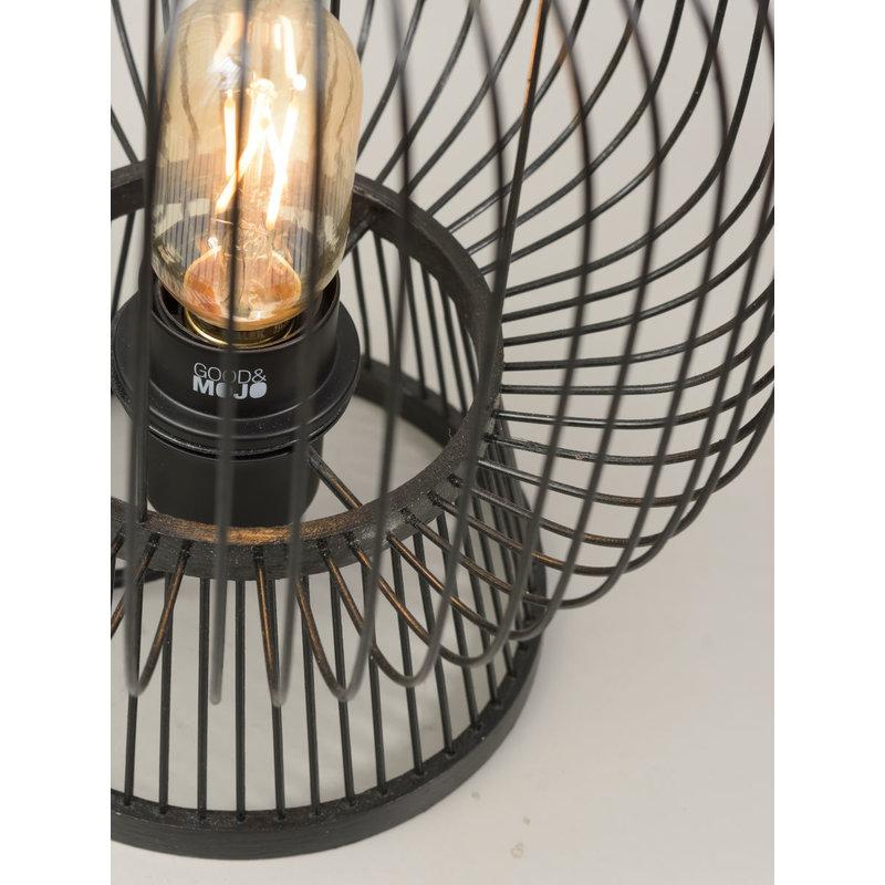 Good&Mojo-collectie Tafellamp Cango 30 zwart