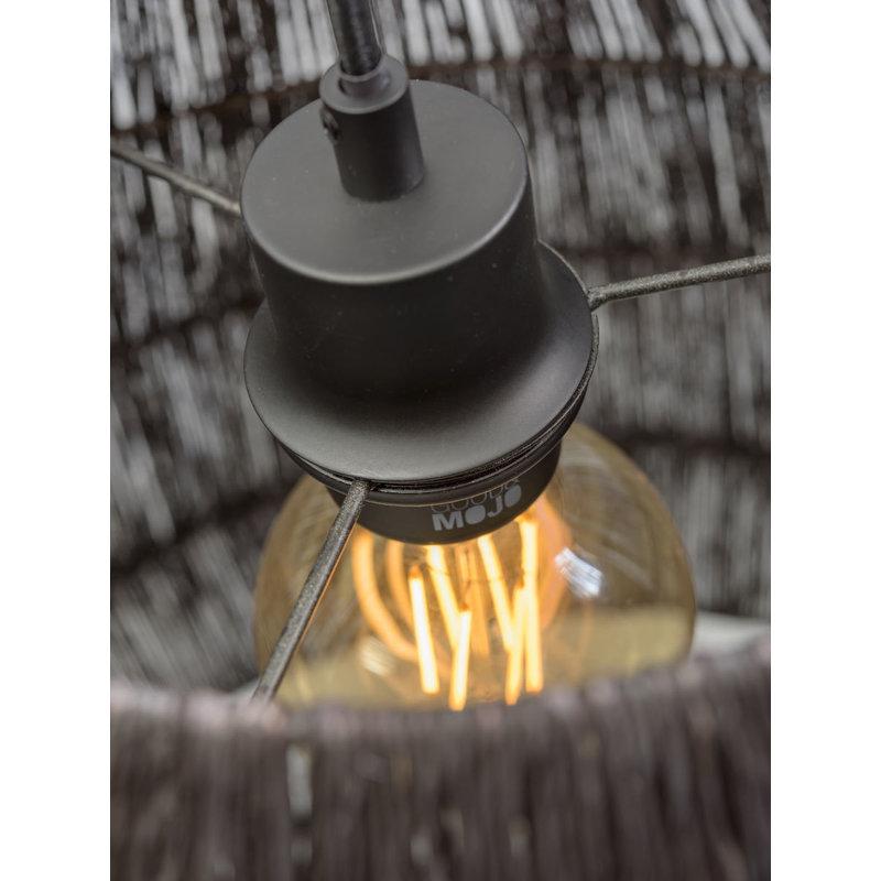 Good&Mojo-collectie Hanglamp Iguazu taps zwart