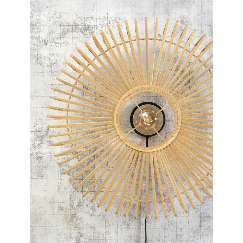 Good&Mojo-collectie Wandlamp Bromo naturel L