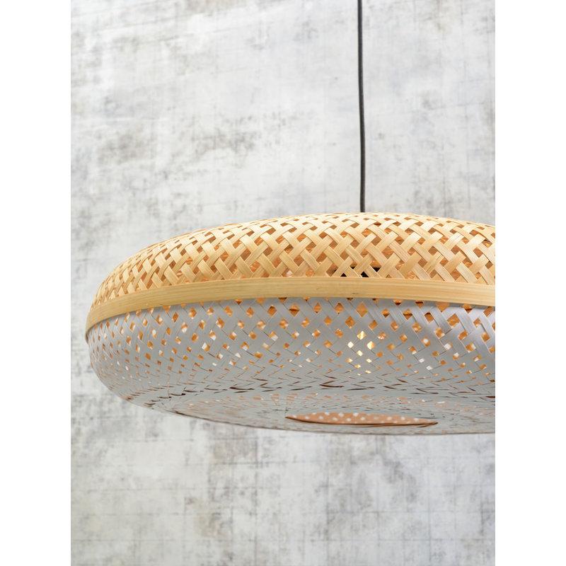 Good&Mojo-collectie Hanglamp Palawan 60cm naturel/wit L
