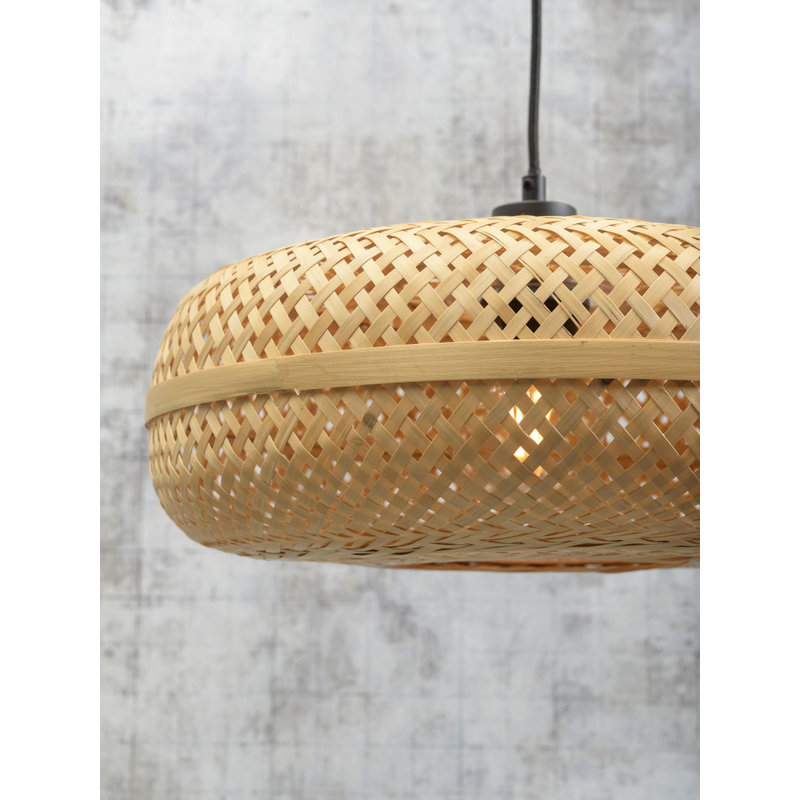 Good&Mojo-collectie Hanging lamp Palawan 40x15cm natural, S