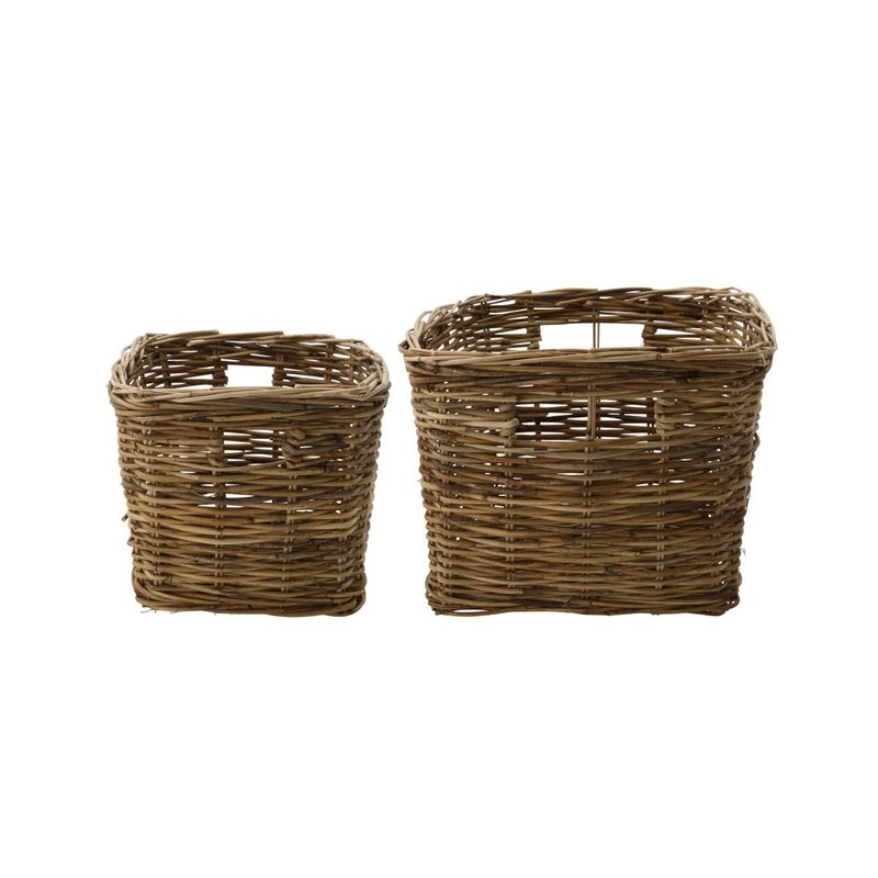 House Doctor-collectie House Doctor  Basket Baskit Natural Set of 2 sizes high