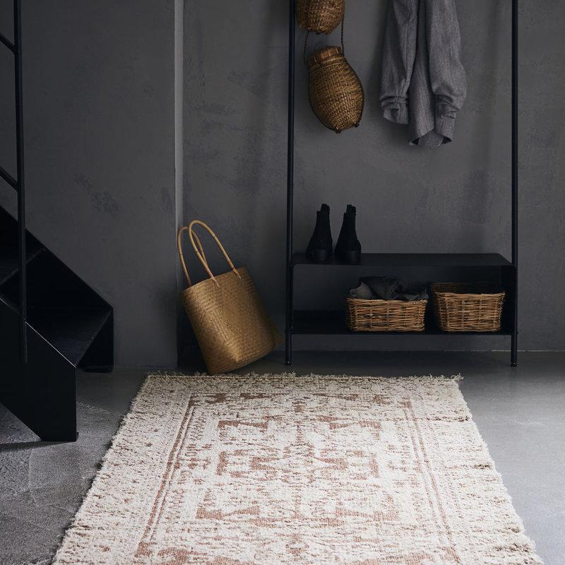 House Doctor-collectie Vloerkleed Wowe beige 200x90