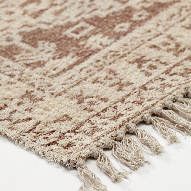 House Doctor-collectie House Doctor  Rug Wowe Beige Finish/Colour/Size may vary Handmade  180 x 180