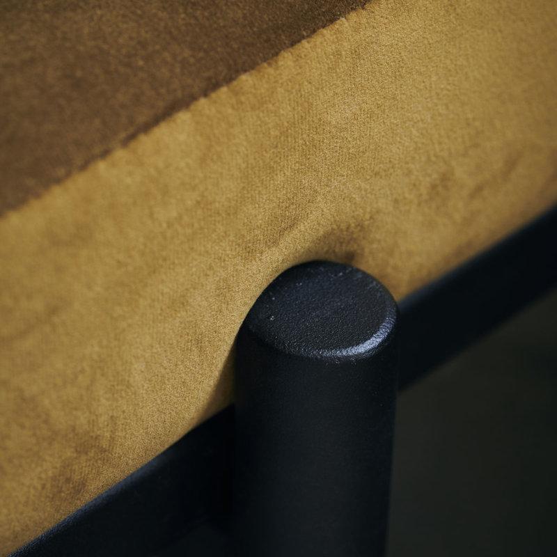 House Doctor-collectie Bank Lao dark olive velvet