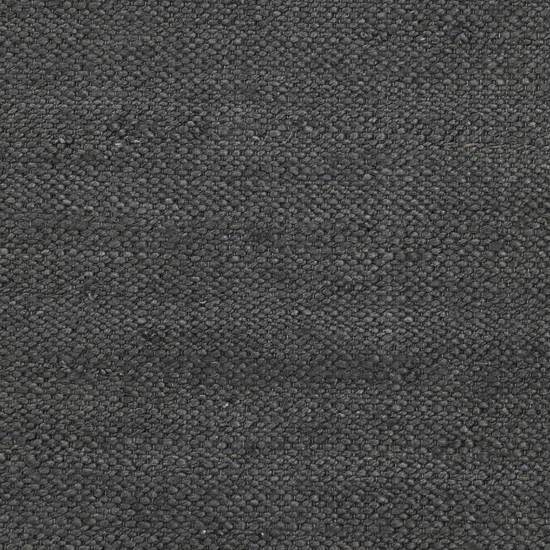 House Doctor-collectie House Doctor  Rug Hempi Black Handmade Finish may vary 300x90