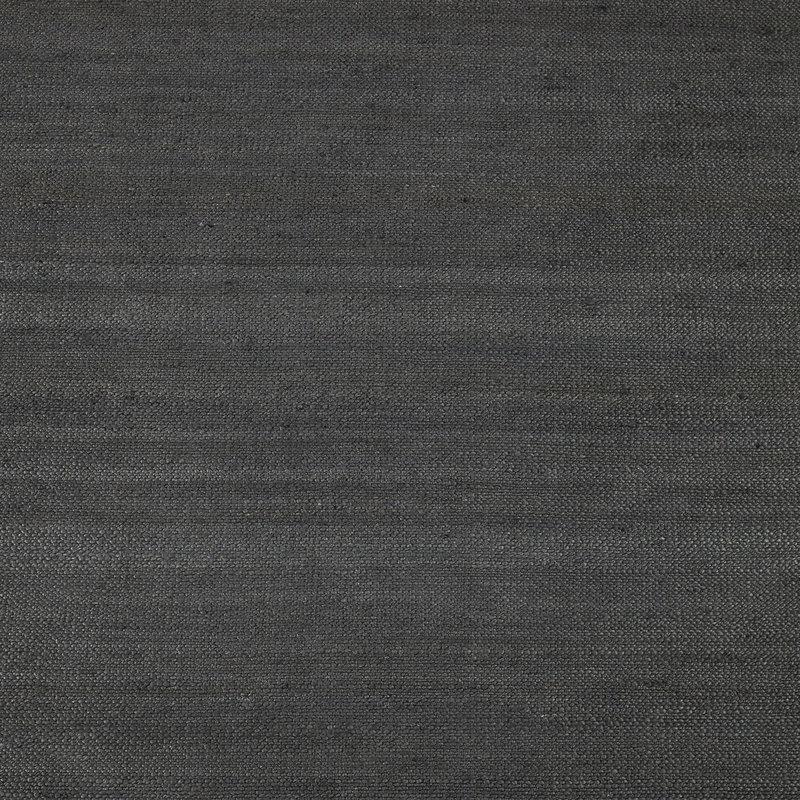 House Doctor-collectie Vloerkleed Hempi zwart 250x250