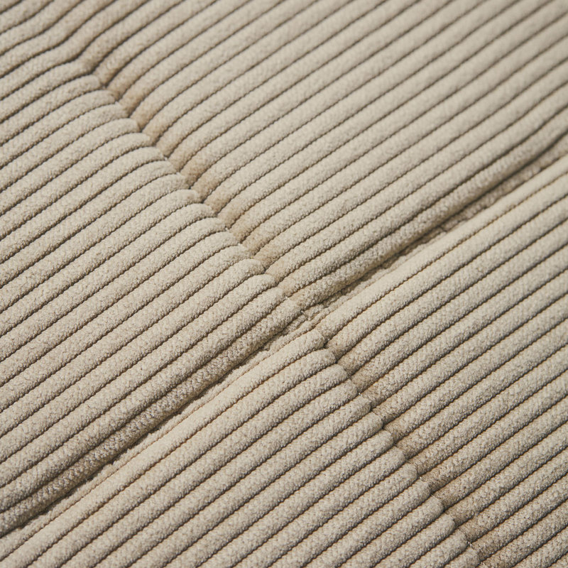 House Doctor-collectie House Doctor  Chair pad round Cord Sand